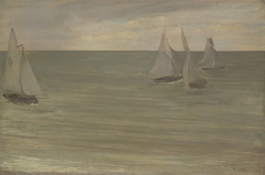 Trouville (Grey and Green, the Silver Sea)
