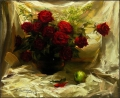 Twelve Red Roses in the Summer
