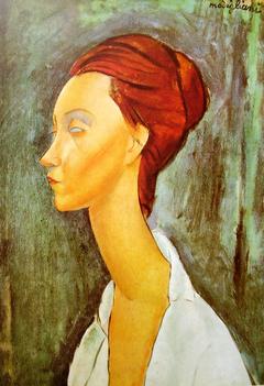 Portrait of Lunia Czechowska