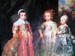 Ritratto dei tre figli maggiori di Carlo I (Torino)