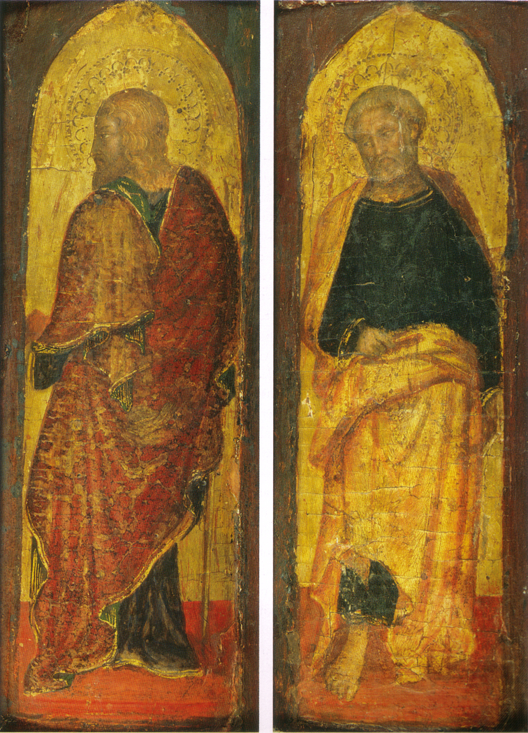 San Giacomo Maggiore e San Pietro, dal polittico Sandei