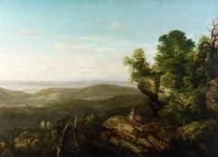 Untitled (Hudson River Landscape with Indian)