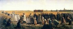 La bénédiction des blés en Artois