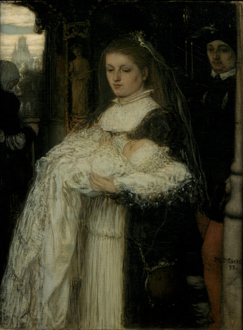 Christening Procession in Lausanne