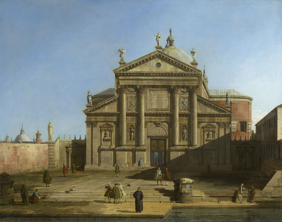 Venice: San Giorgio Maggiore in a Caprice Setting