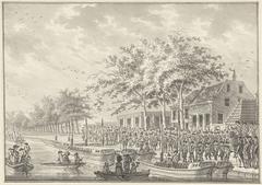 Vertrek van de Amsterdammers naar Utrecht, 1787