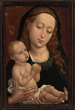 Virgin and Child, Holding an Apple