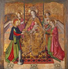 Virgin and Saints