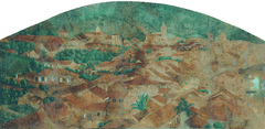 Vista parcial da cidade de Nossa Senhora do Desterro (atual Q132997)