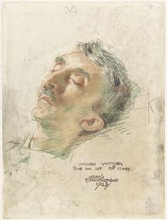 Willem Witsen op zijn doodsbed