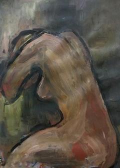 Woman sadness