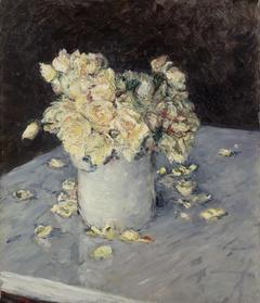 Yellow Roses in a Vase (Roses jaunes dans un vase)