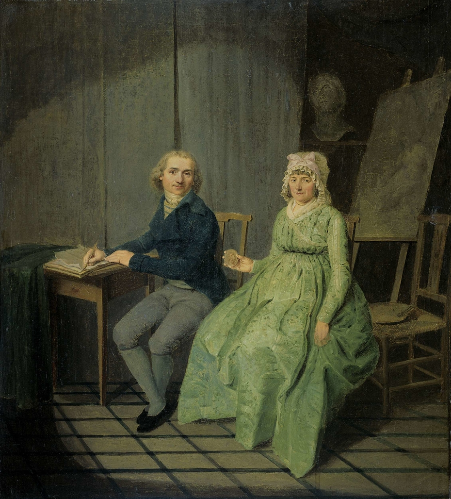 A Painter with his Wife