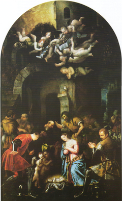 Adoration of the Shepherds with the Saints Nazario and Celso