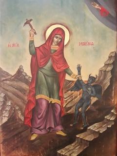 Aghia Marina (detail)