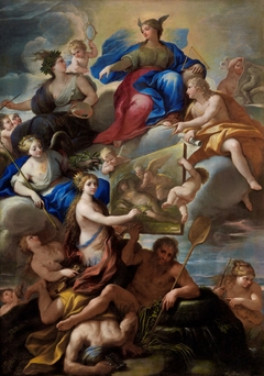 Allegory of Knowledge and the Arts in Naples