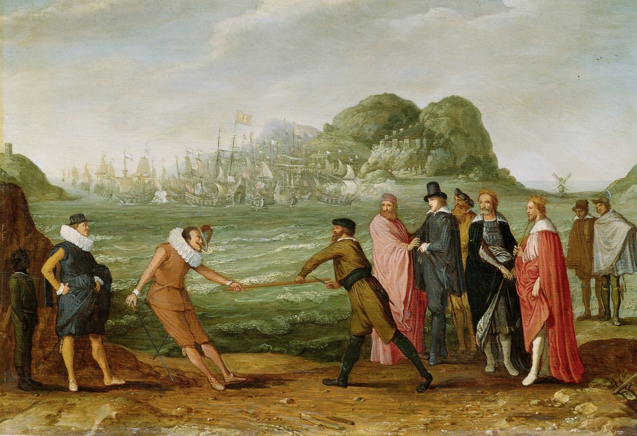 Allegory of the Victory of the Dutch over the Spanish Fleet at Gibraltar, 25 April 1607