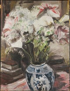 Amaryllis, Calla Lilies, and Lilacs