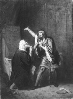 Anno 1388. Hertog Willem van Gelre wordt door zijn vader tot vrede overgehaald