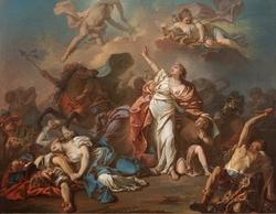 Apollo and Diana Attacking the Children of Niobe