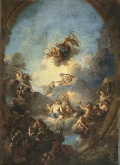 Apollo and Phaethon with the Seasons