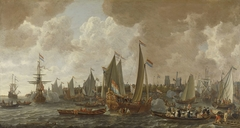 Arrival of Charles II, King of England, in Rotterdam, 24 May 1660