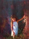 """""""Αθωότητα"""" / """"Innocence"""", 60 x 80 cm, oil on canvas."""