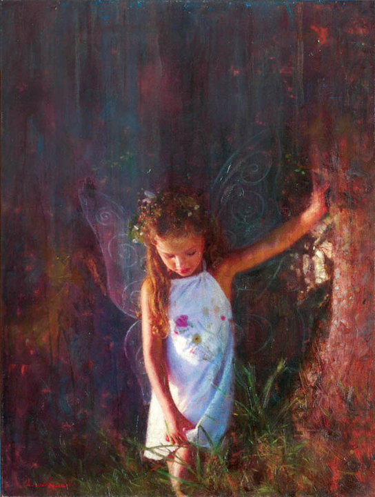"""Αθωότητα"" / ""Innocence"", 60 x 80 cm, oil on canvas."