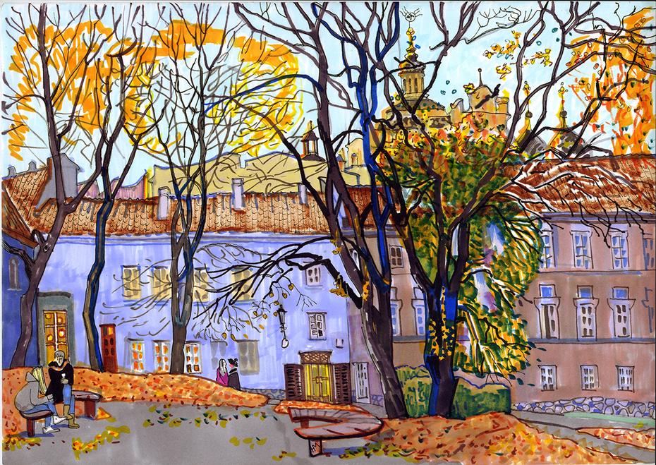 autumn Vilnius