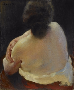 Back of a Woman, Study