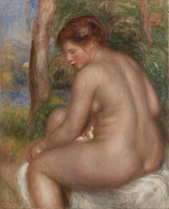 Bather in Three-Quarter View (Baigneuse vue de trois quarts)