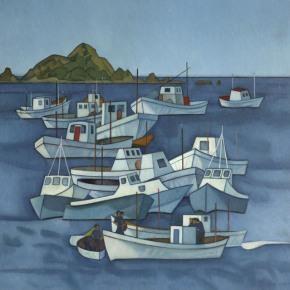 Boats, Island Bay