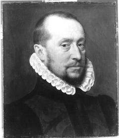 Brustbild eines braunbärtigen Mannes
