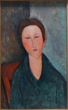 Buste de jeune fille (Mademoiselle Marthe)