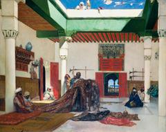 Carpet Seller in Tangiers