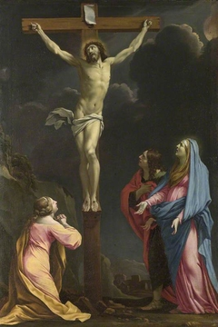 Christ on the Cross with the Virgin and Saints