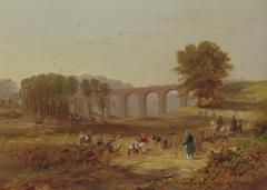 Corby Viaduct, the Newcastle and Carlisle Railway