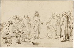 De ongelovige Thomas herkent Christus