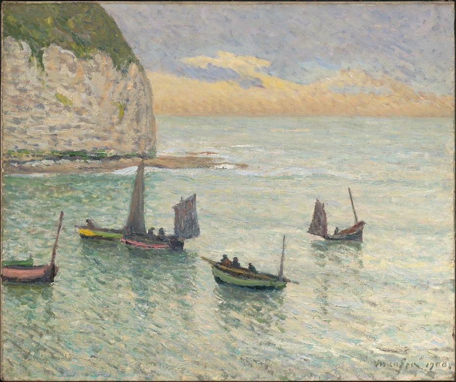Departure of Fishing Boats, Yport