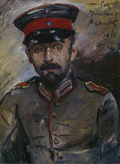 Der Maler Makabäus-Hermann Struck
