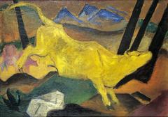 Die gelbe Kuh (Studie)