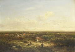 Distant View with a Village