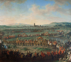 Entry of Joseph II into Frankfurt for his coronation in 1764