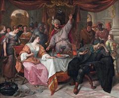 Esther, Ahasuerus and Haman