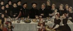 Family Portrait of Pierre de Moucheron, Merchant in Middelburg and Antwerp, his Wife Isabeau de Gerbier, their eighteen Children, their Son-in-Law Allard de la Dale and first Grandchild