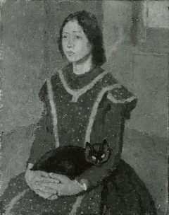 Girl with a Cat