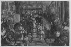 Gonzaga-Zyklus, II. Reihe, 4. Einzug Philipps II. in Mantua