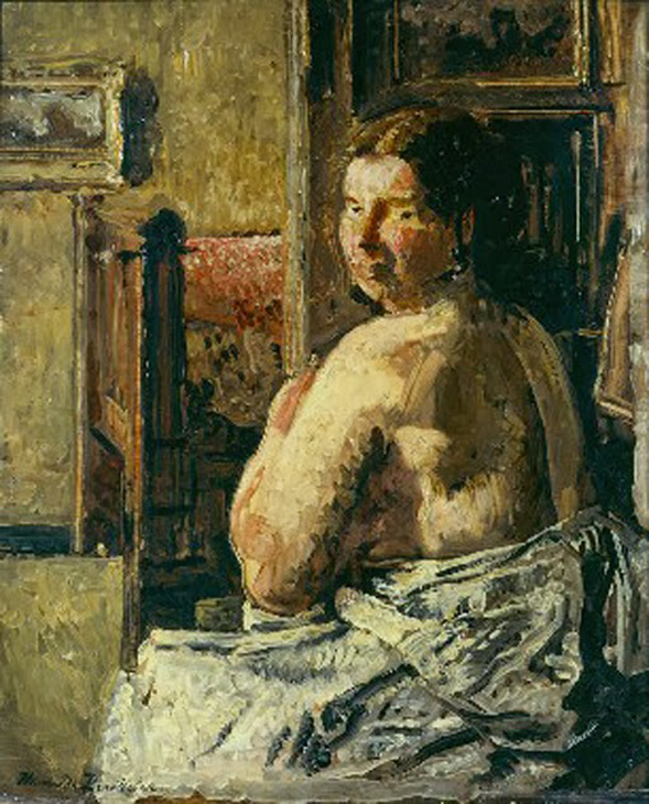 Henri de Braekeleer-Una mujer del pueblo
