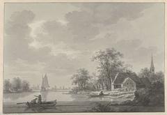 Het dorp Capelle aan de IJssel