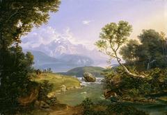 Hirschjagd am Hintersee bei Berchtesgaden